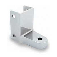 Jacknob 3290, Toilet Door Zamak 110-Degree Mortise Bottom Hinge for 7/8 - 1in Thick Doors, In-Swing & Out-Swing, Chrome