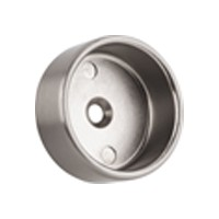 "Closed Round Flange with Pins 1-5/16"" Dia Dull Nickel WE Preferred 54231-49-076"