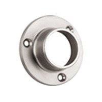 "Closed Round Flange 1-5/16"" Dia Dull Nickel WE Preferred 54233-49-088"