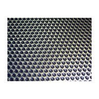 Meier 163-2441-ST, 23-5/8 Non-Slip Mat, Aqua Drip Series, Black Stainless Steel, Single Sheet Only, Cut-To-Size, 23-5/8 x 41in