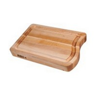 John Boos RAPA1818 18 L Cutting Board, Professional Collection, RAPA Board, Maple, 18 L x 18 W X 2-1/4 Thick