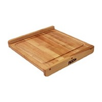 John Boos KNEB17 17-3/4 L Cutting Board, Countertop Board Collection, Maple, Reversible, 17-3/4 L x 17-1/4 x 1-1/4 Thick
