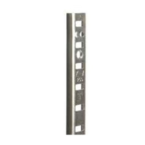 WE Preferred B01-58481-174 48in HD Pilaster, Surface or Flush Mount, Bright Zinc