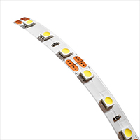 Tresco 13' Roll 4.4W/FT FlexTape LED Tape Light, Cool White, L-FLXTPE-CRV-1