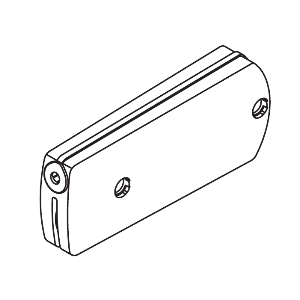 Kinvaro D-S Flap Stay with Front Holder and Fixing Screws 60N Springs White Grass F053139666607