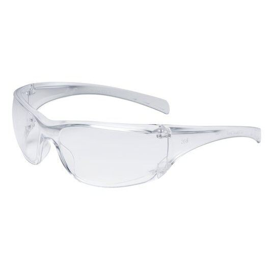 Clear Lens Anti-Fog Adjustable Safety Glasses, 3M Virtua 11818