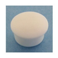 Bainbridge 3001WH-62 Bulk-1000, 5mm Bore, Plastic Cover Cap for Shelf Hole, White