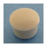 Bainbridge 3010AL-62 Bulk-1000, 8mm Bore, Plastic Cover Cap for Shelf Hole, Almond