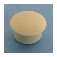 Bainbridge 3015AL-62 Bulk-1000, 10mm Bore, Plastic Cover Cap for Shelf Hole, Almond