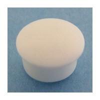 Bainbridge 3015WH-62 Bulk-1000, 10mm Bore, Plastic Cover Cap for Shelf Hole, White