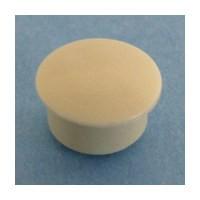 Bainbridge 3015AL-32, 10mm Bore, Plastic Cover Cap for Shelf Hole, Almond, 100-Pack
