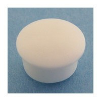Bainbridge 3015WH-32, 10mm Bore, Plastic Cover Cap for Shelf Hole, White, 100-Pack