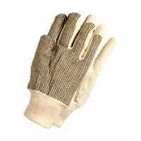 Magid Glove T30P, Assembly Gloves (Canvas) with Gripping Plastic Dots, Large