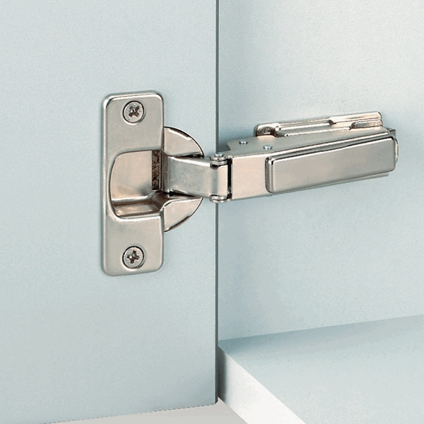 Grass 145.305.53.0015 95 Degree Nexis Hinge for Thick Door, Free Swing, Full Overlay, Screw-on