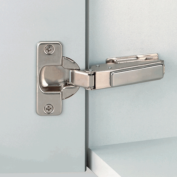 Grass 138.622.50.0815 110 Degree Nexis Impresso Hinge, Self-Close, Half Overlay, Toolless