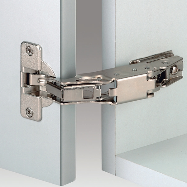 Grass 146.765.35.0815 170 Degree Nexis Impresso Hinge, Self-Close, Half Overlay, Toolless