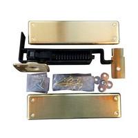 Bommer 7811-633, Spring Pivot Horizontal Type Hinge Kits, Double Acting, Medium Duty, Dull Brass