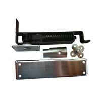 Bommer 7811-652, Spring Pivot Horizontal Type Hinge Kits, Double Acting, Medium Duty, Dull Chrome