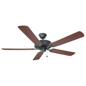 Design House 154153 Millbridge 52in 5-Blade Ceiling Fan, Dark Mahogany or Light Maple Blades, Oil Rubbed Bronze