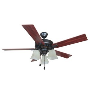 Design House 154245 Torino 52in Ceiling Fan Brushed Bronze
