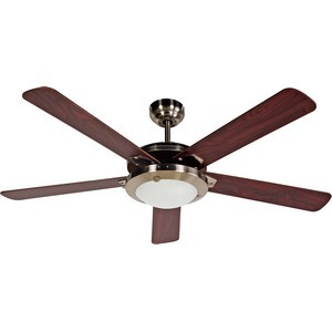 Design House 154336 Eastport 52in Ceiling Fan Satin Nickel