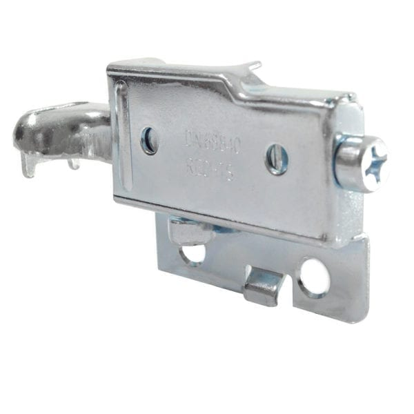Left Sided Zinc Plated Hanging Rail Bracket for use with CM875-Z1-24 Rail Peter Meier 16.85450