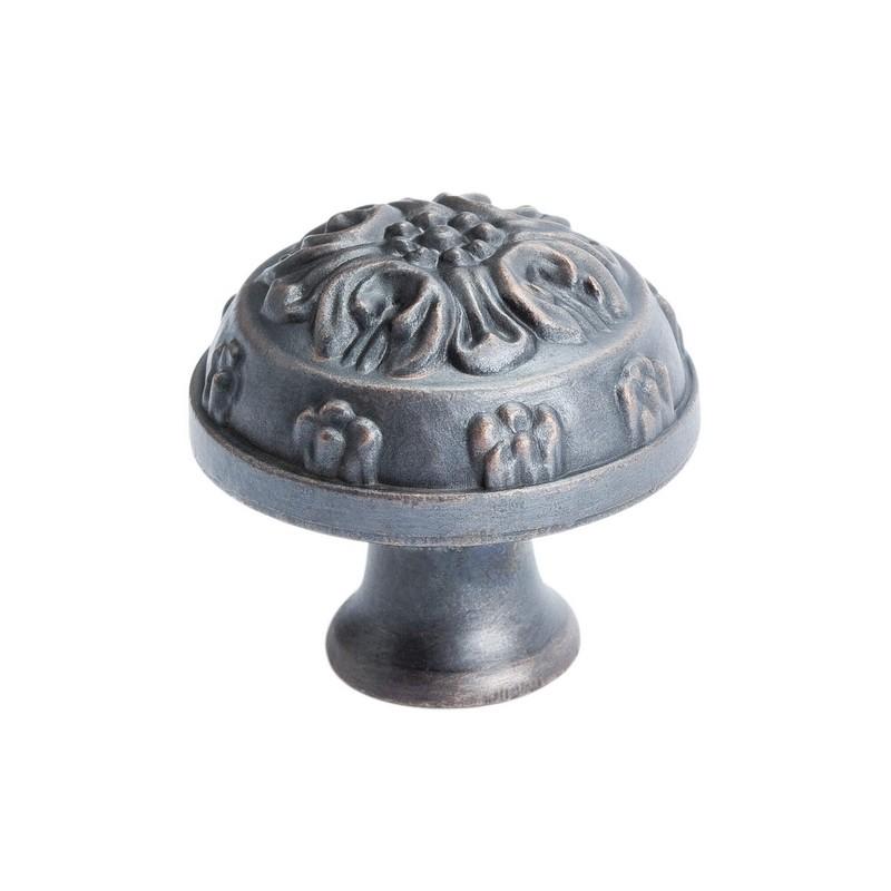"Baroque Knob 1-1/4"" Dia Verona Bronze Berenson 1644-1VB-P"