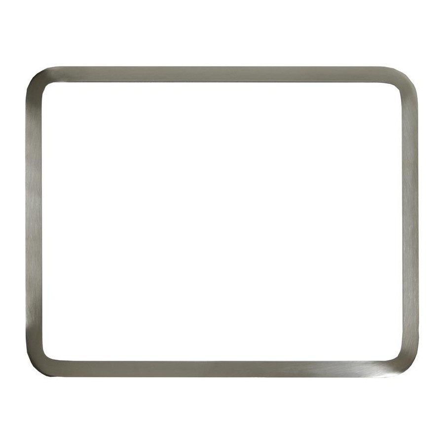 Vance 1S41215SS Recessed Glass Cutting Board Stainless Steel Rim