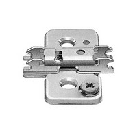 Blum 173H9130.06 9mm CLIP Hinge Mounting Think Wing Plate, Cam Adjustable