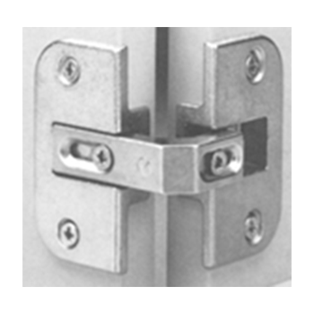 Grass 13128-37 Pie Cut Corner Hinge, Screw-on