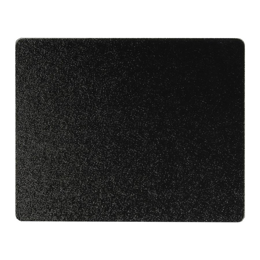 Vance 1512BK, 12in Portable Glass Cutting Board with (4) Non-Slip Rubber Feet, Vance Series, Black, 12 W x 15 L