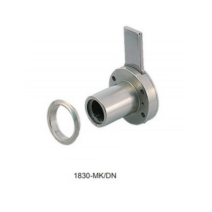 "1830-MK Drawer Lock Housing 7/8"" Dia Nickel Sugatsune 1830-MK/DN"