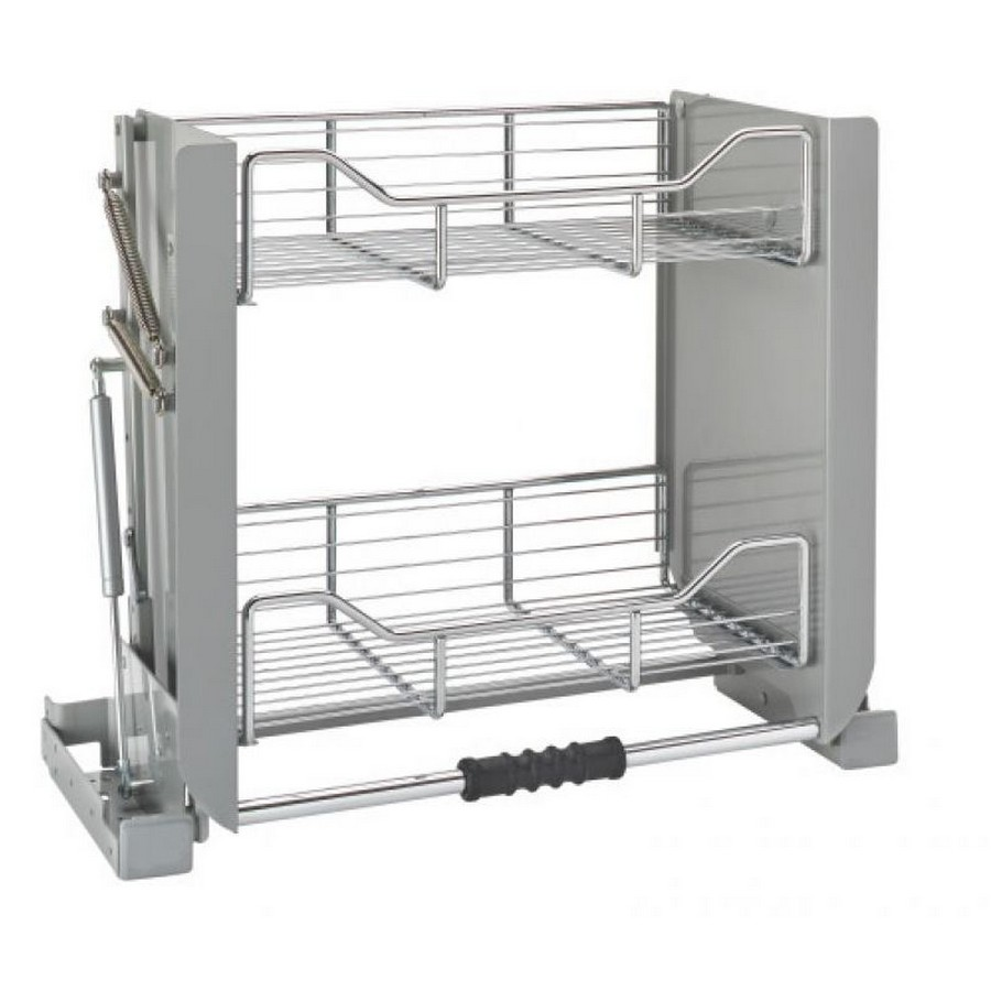 "24"" Chrome Pull Down Shelf Rev-A-Shelf 5PD-24CRN"