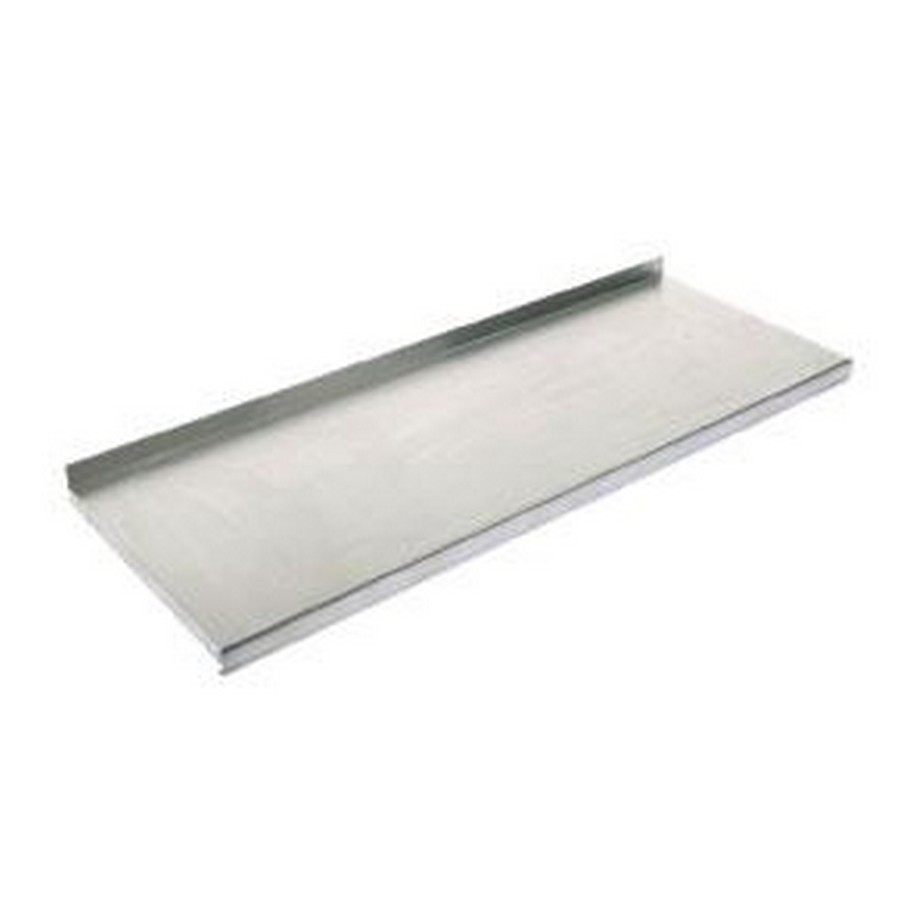 "Stainless Steel Shelf for Use with 187SS Series Brackets 20"" x 32"" Bulk-5 Knape and Vogt 1987 SS 20X32"