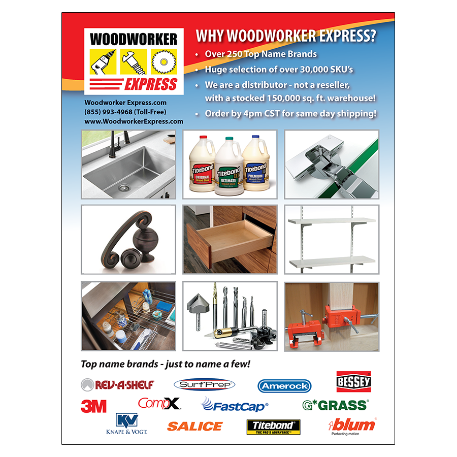 Woodworker Express Product Preview Catalog