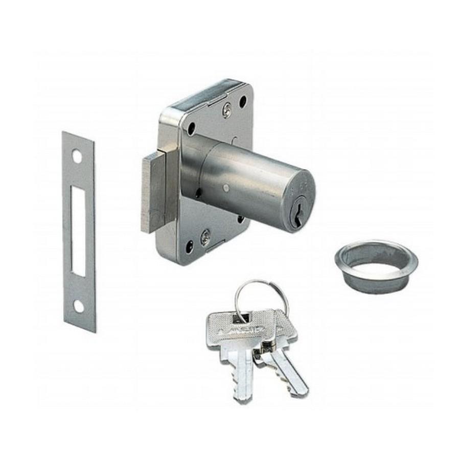 """2100 Cabinet Lock 11/16"""" Dia x 1-3/16"""" Long Sugatsune 2100-30"""