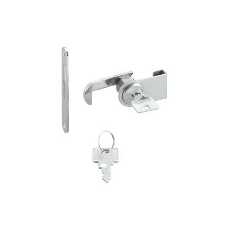 2100  Glass Door Cam Lock 18.1mm Dia NickelSugatsune 2100GLK