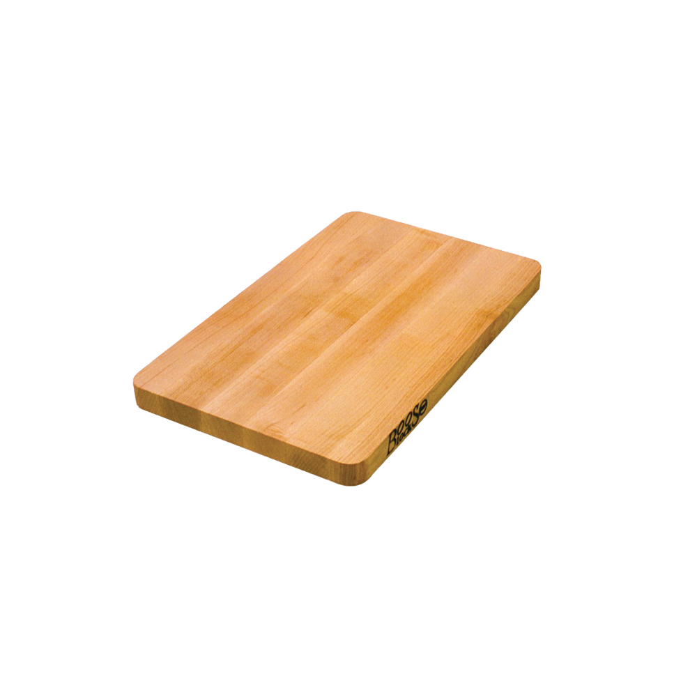 John Boos 212 16 L Cutting Board, Chop-N-Slice Collection, Maple, Size 16 L x 10 W x 1in Thick