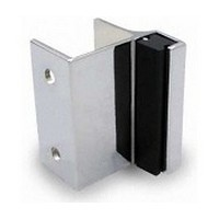 Jacknob 5210, Toilet Door Zamak Strikes/Keepers for Out-Swing Doors, Chrome