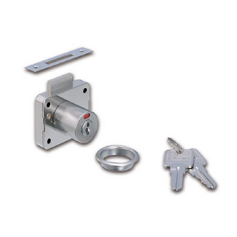 "2200 Cabinet Lock w/ Indicator 7/8"" Dia x 1-3/16"" Long Nickel Sugatsune 2200-30"