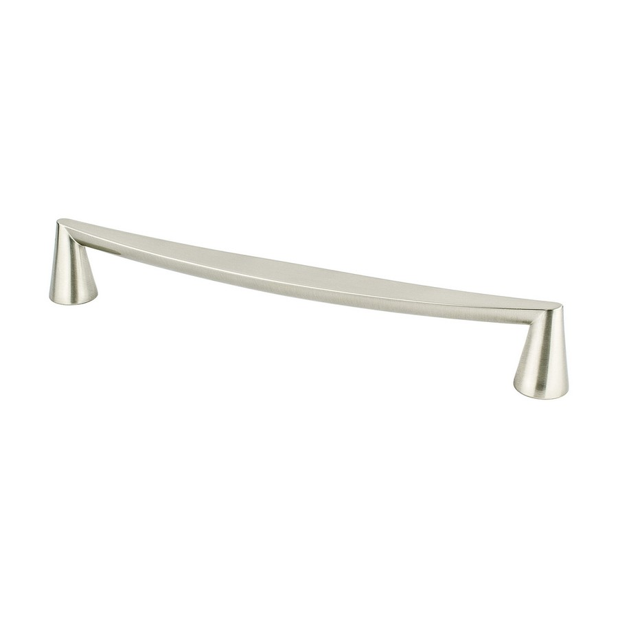 Domestic Bliss Pull 224mm Center to Center Brushed Nickel Berenson 2352-1BPN-P