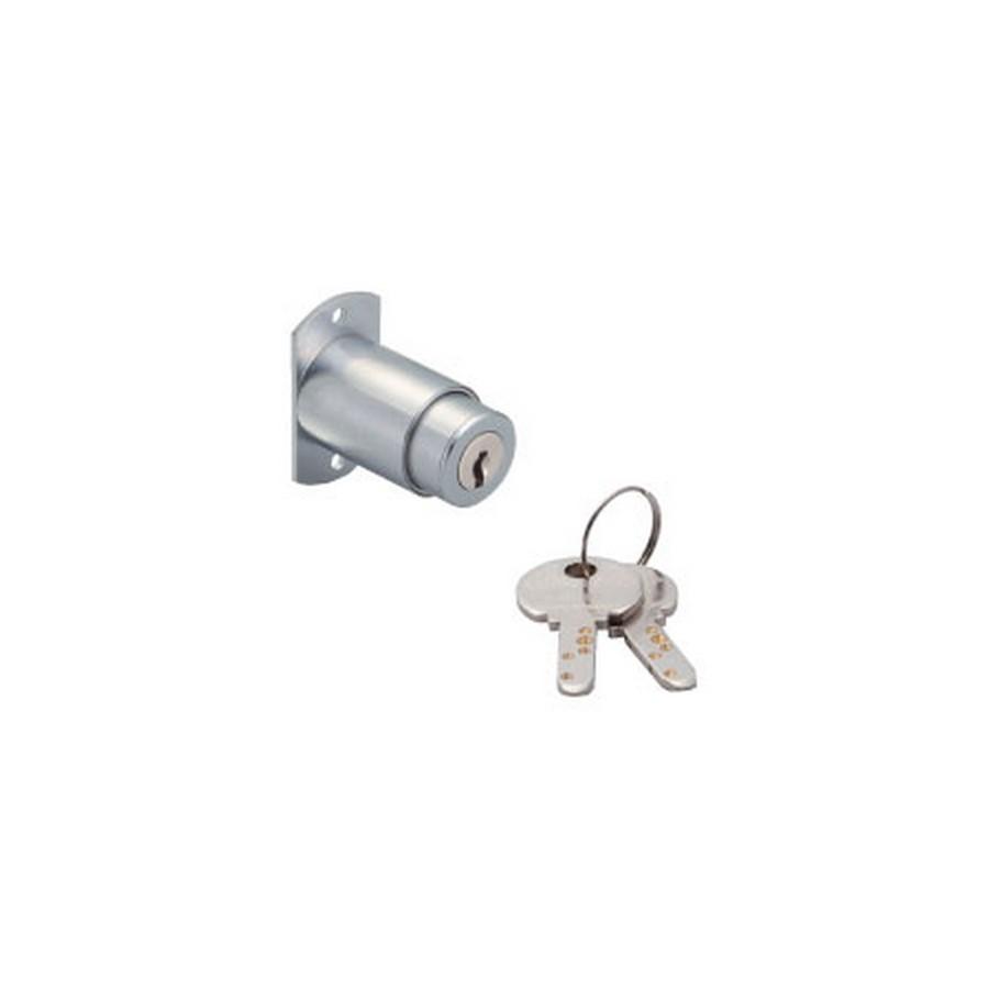 """2400M Push Lock for Bypass Sliding Doors 1"""" Thick Sugatsune 2400M-25"""