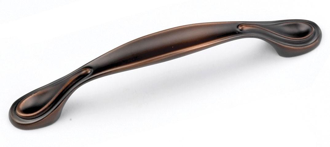 Laurey 24277 Footed Handle, Centers 3-3/4 (96mm), Venetian Bronze, Windsor Series