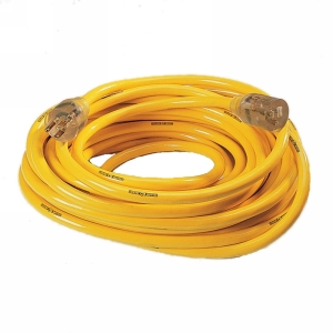 Northern Safety 10240 50' Extension Cord, Contractor, 10/3 Gauge