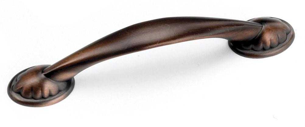 Laurey 24477 Footed Handle, Centers 3-3/4 (96mm), Venetian Bronze, Windsor Series