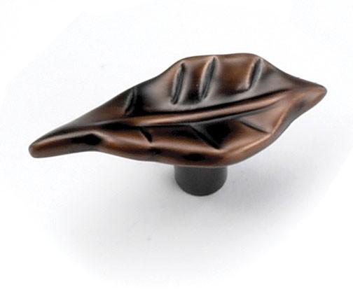 """Windsor Knob 2"""" Long Venetian Bronze Laurey 24977"""