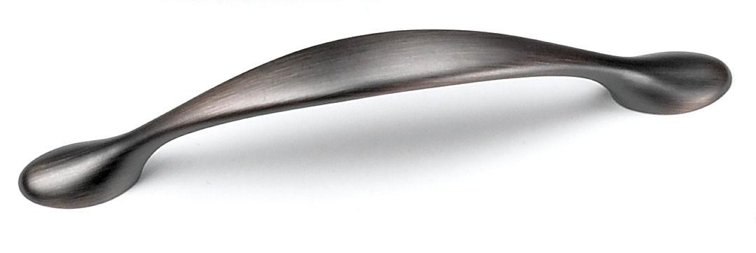 Laurey 25277 Footed Handle, Centers 3-3/4 (96mm), Venetian Bronze, Delano