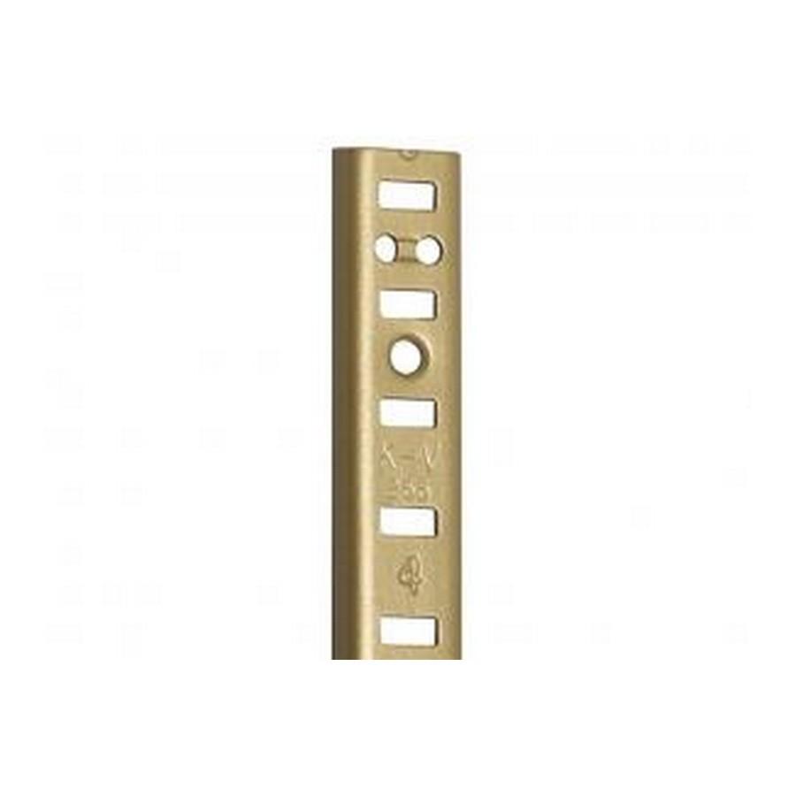 KV 255AL BR 18, 18in 255 Series Pilaster, Surface or Flush Mount, Brass Aluminum, Knape and Vogt