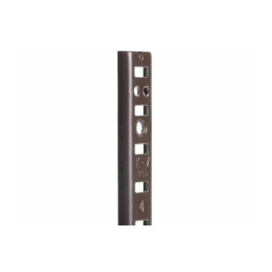 KV 255 BRN 18, 18in 255 Series Pilaster, Surface or Flush Mount, Brown, Knape and Vogt