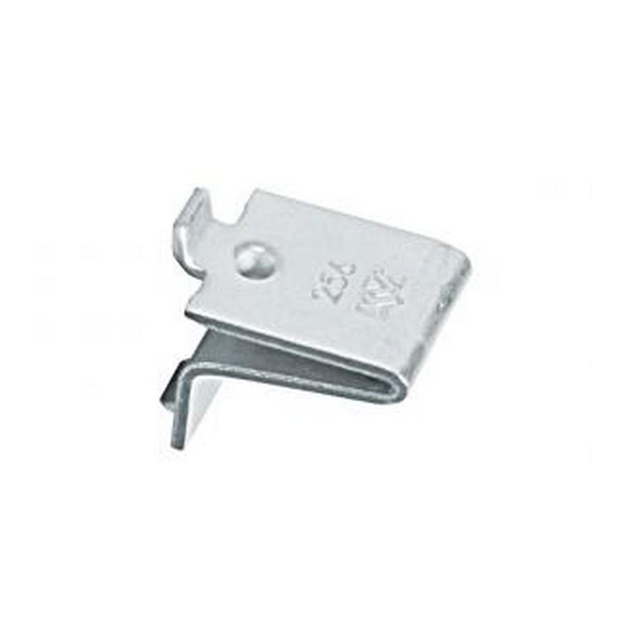 KV 256 AL NAT, 256 Series Shelf Clip, Natural Aluminum, Knape and Vogt